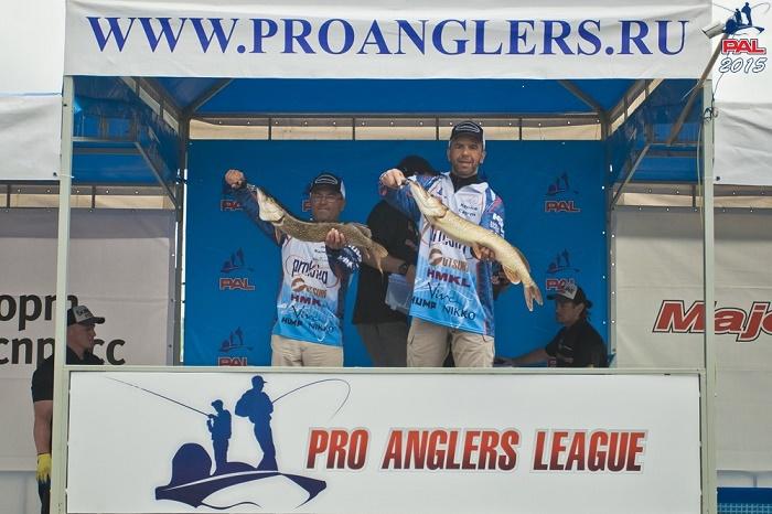 Команда «Практика Джига» - победитель этапа престижного рыболовного турнира.