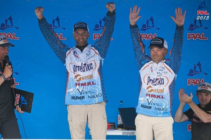 победитель этапа престижного рыболовного турнира