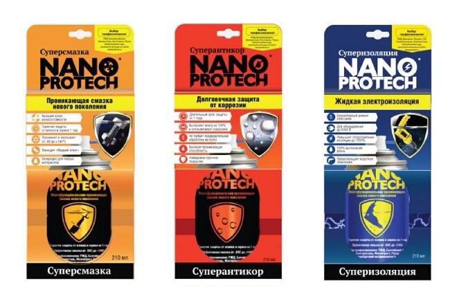 продукция фирмы NANOPROTECH
